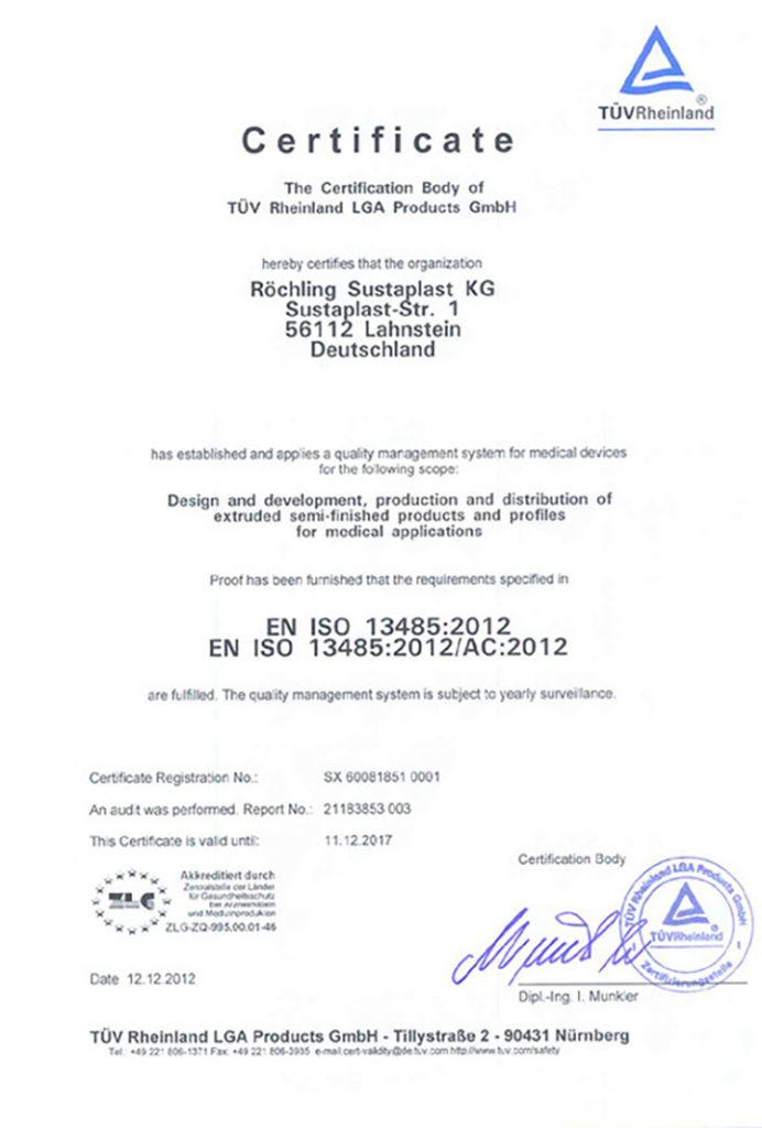 Roechling-Sustaplast-EN-ISO-13485-2012-yktg-com